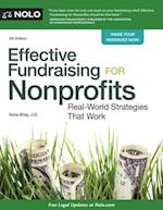 Effective Fundraising for Nonprofits af Ilona Bray