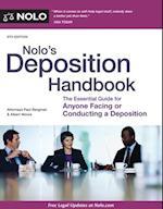 Nolo's Deposition Handbook af Paul Bergman