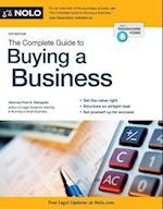 The Complete Guide to Buying a Business (COMPLETE GUIDE TO BUYING A BUSINESS)