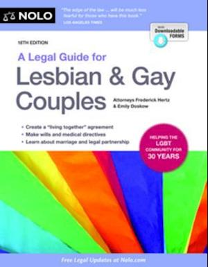 Legal Guide for Lesbian & Gay Couples, A af Emily Doskow, Frederick Hertz