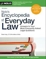 Nolo's Encyclopedia of Everyday Law (NOLO'S ENCYCLOPEDIA OF EVERYDAY LAW)