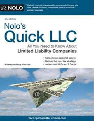 Nolo's Quick LLC af Anthony Mancuso