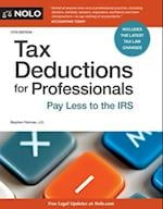 Tax Deductions for Professionals (TAX DEDUCTIONS FOR PROFESSIONALS)