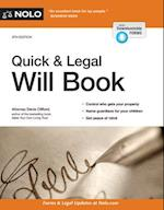 Quick & Legal Will Book (Quick & Legal Will Book)