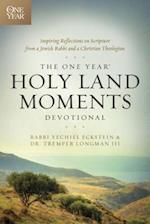 The One Year Holy Land Moments Devotional af Yechiel Eckstein, Tremper III Longman