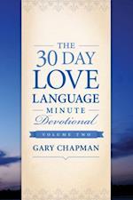 30-Day Love Language Minute Devotional Volume 2