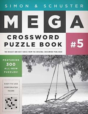 Simon & Schuster Mega Crossword Puzzle Book, Series 5