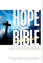 Hope for Today Bible New Living Translation, Red Letter Edition af Joel Osteen, Victoria Osteen