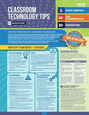 Classroom Technology Tips (Quick Reference Guide 25-Pack)