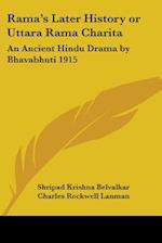 Rama's Later History or Uttara Rama Charita
