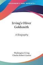 Irving's Oliver Goldsmith