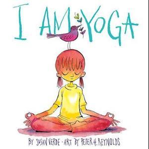 Bog, hardback I Am Yoga af Susan Verde