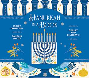 Hanukkah in a Book (UpLifting Editions):Jacket comes off. Candles