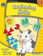 Beginning Skills, Pre-K Through K [With 180+ Stickers] (Ready Set Learn)