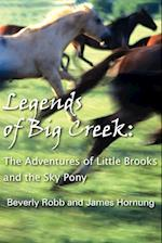 Legends of Big Creek:: The Adventures of Little Brooks and the Sky Pony af James Hornung, Beverly Robb