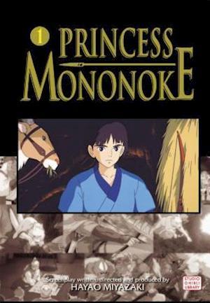 Bog paperback Princess Mononoke Film Comic 1 af Hayao Miyazaki