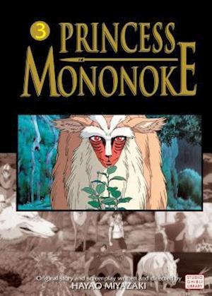 Bog paperback Princess Mononoke Film Comic 3 af Hayao Miyazaki