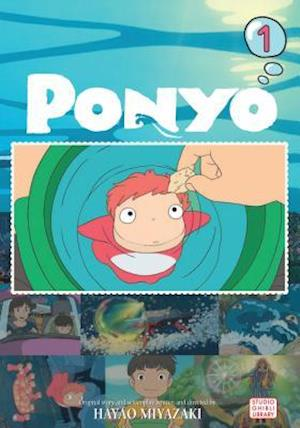 Bog, paperback Ponyo Film Comic 1 af Hayao Miyazaki