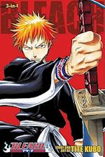 Bleach (3-in-1 Edition), Vol. 1 af Tite Kubo, Andy Ristaino