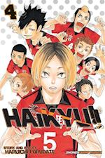 Haikyu!! 4 af Haruichi Furudate