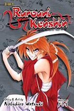 Rurouni Kenshin (3-in-1 Edition), Vol. 1 (Rurouni Kenshin, nr. 1)