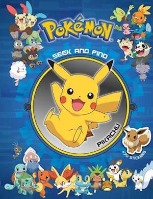 Pokemon Seek and Find Pikachu