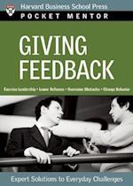 Giving Feedback (Pocket Mentor)
