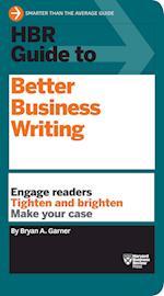 HBR Guide to Better Business Writing (HBR Guide Series) af Bryan A Garner