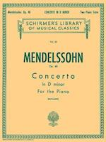 Concertos for the Piano af Felix Mendelssohn