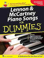 Lennon and Mccartney Piano Songs for Dummies (For dummies)