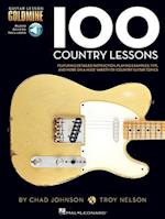 100 Country Lessons (Guitar Lesson Goldmine Series)