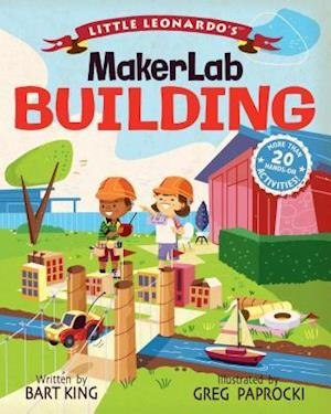 Little Leonardo's Maker Lab: Building Book