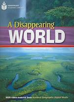 A Disappearing World (Footprint Reading Library Level 2)