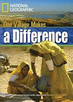 One Village Makes a Difference (Footprint Reading Library Level 3)