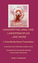 Handwriting Analysis: Laws/Principles...and More