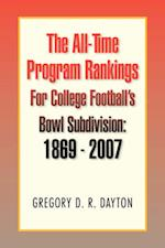 The All-Time Program Rankings