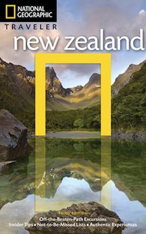 Bog, paperback National Geographic Traveler New Zealand af Peter Turner