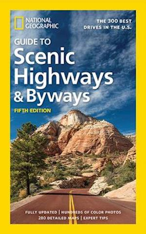 Bog, paperback National Geographic Guide to Scenic Highways & Byways af National Geographic Society