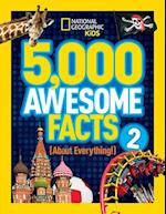 5,000 Awesome Facts (About Everything!) 2 (5 000 Awesome Facts)