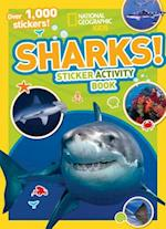 Sharks Sticker Activity Book [With Sticker(s)] (National Geographic Kids)