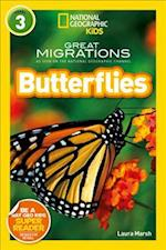 National Geographic Kids Readers: Butterflies (National Geographic Kids Readers Level 3)