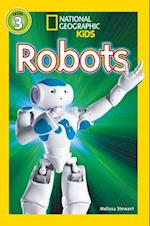 National Geographic Kids Readers: Robots (National Geographic Kids Readers Level 3)