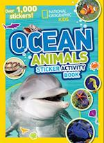 Ocean Animals Sticker Activity Book (National Geographic Kids)