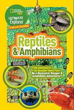 Bog, hardback Reptiles and Amphibians af Catherine Herbert Howell