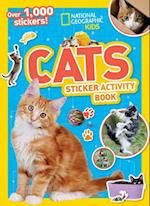National Geographic Kids Cats Sticker Activity Book af National Geographic Society