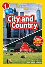 National Geographic Kids Readers: City/Country (National Geographic Readers)