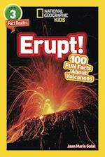 Erupt! (National Geographic Readers)