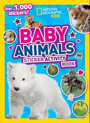 National Geographic Kids Baby Animals Sticker Activity Book