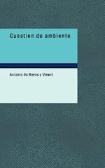 Cuestion de Ambiente af Antonio De Hoyos y. Vinent