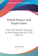 British History and Papal Claims